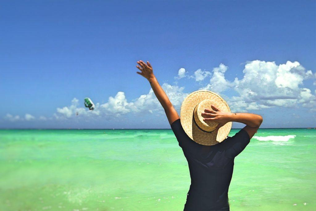 La blogger Trop Rouge descubre todas sus posibilidades de las vacaciones en el Caribe