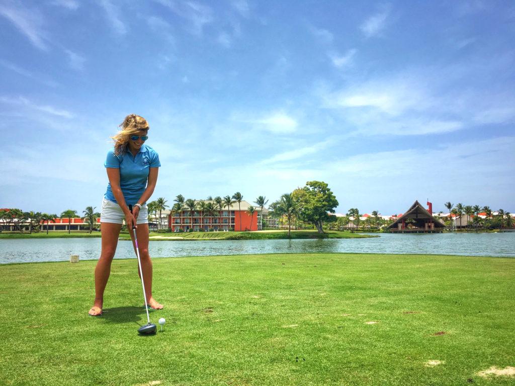 Campo de golf profesional en Barceló Bávaro Grand Resort