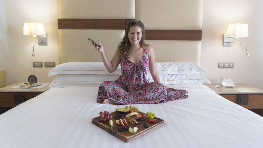 Gabriela @gabbysmac se aloja en uno de los mejores hoteles de Riviera Maya. ¿Quieres saber cuál?