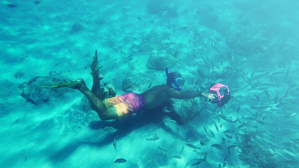 Desfrute com @shangerdanger de umas férias inesquecíveis e do melhor mergulho em Aruba.