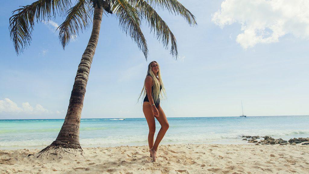 Pregunta a Lauren Beeston por las mejores playas de Punta Cana, ¡las conoce todas!