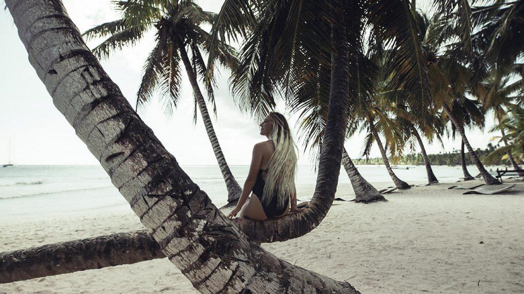 El Cortecito, la mejor playa de Punta Cana, inmortalizada por @lobeeston en República Dominicana.