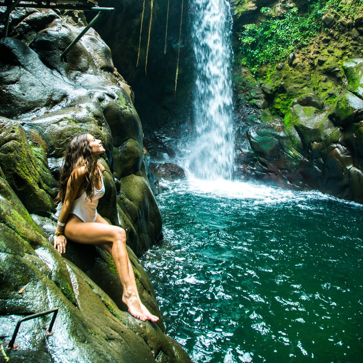 O paraíso existe e está na Costa Rica. Courtney Scott o revela