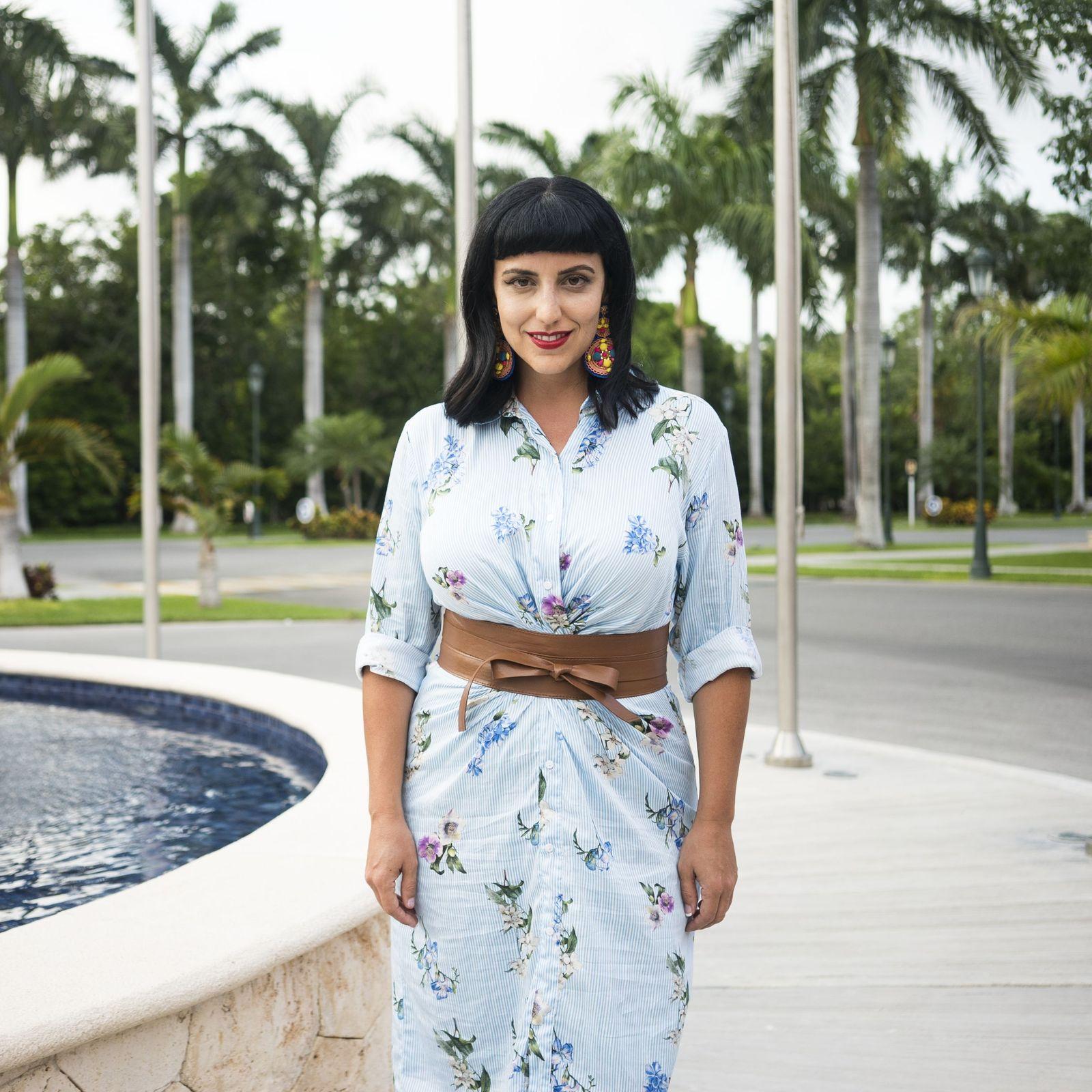 La influencer Global Girl Travels eligió Barceló Maya Grand Resort para sus vacaciones en México