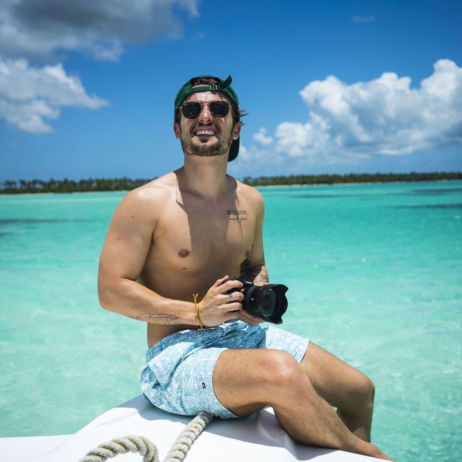 Visite Ilha Saona na República Dominicana como Vitor Liberato
