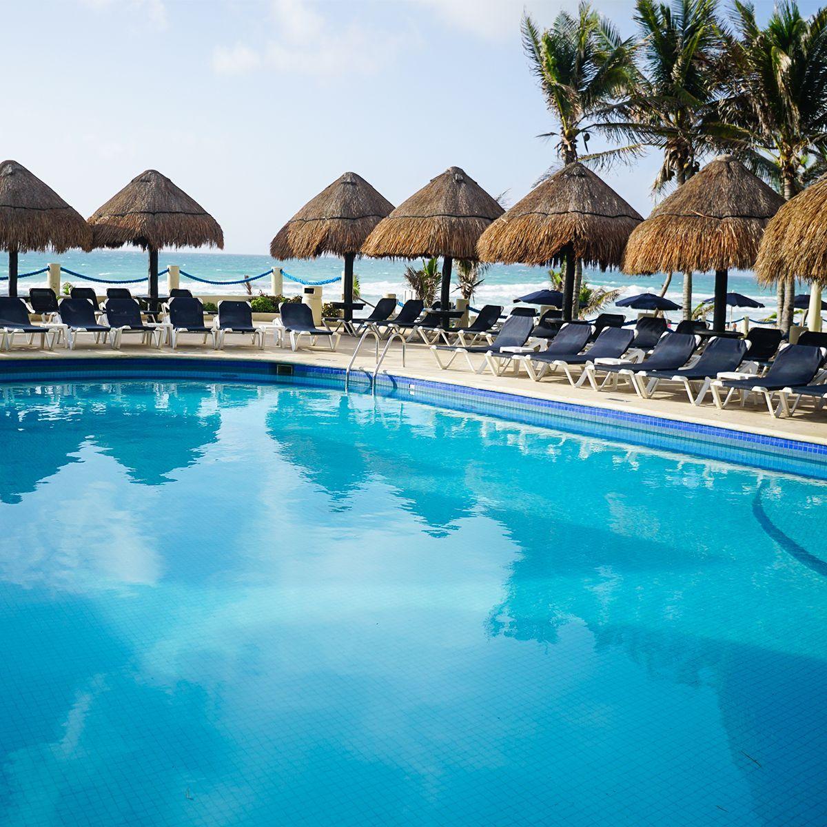Hoteles a pie de playa con piscina en Cancún, México