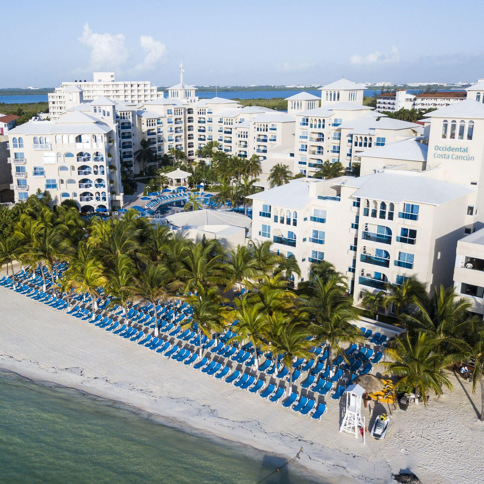 Hoteles para familias en Playa Linda, Cancún, México