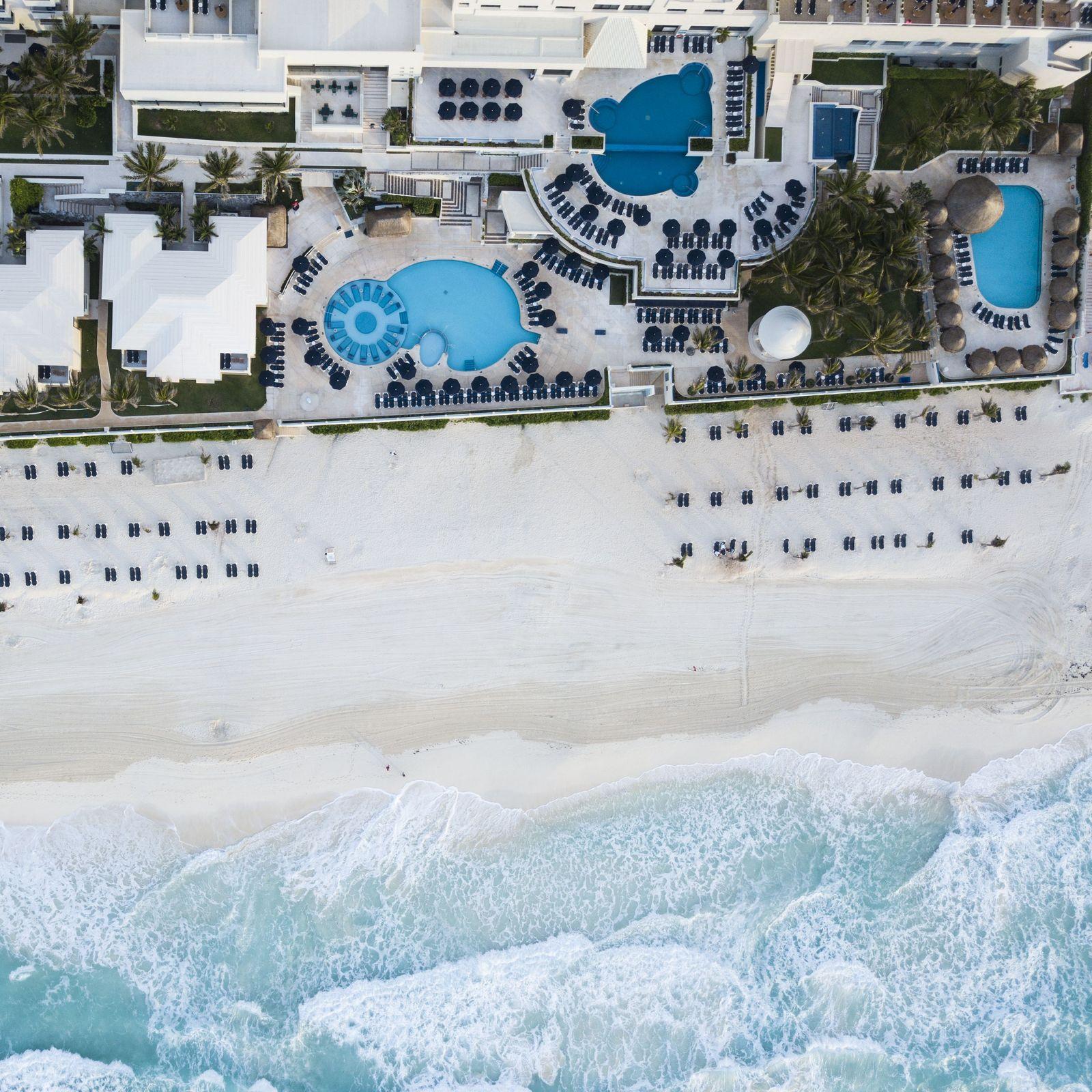 Hoteles con vistas a Playa Linda en Cancún