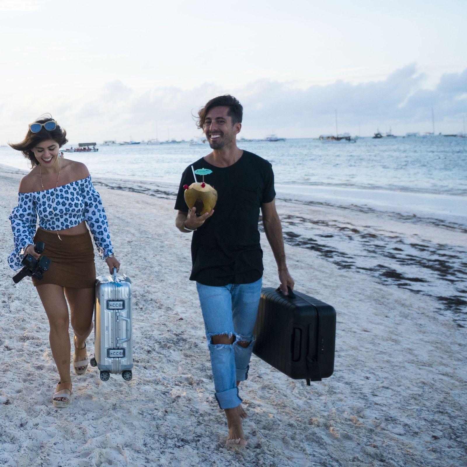 Vacaciones en pareja en playa Bávaro